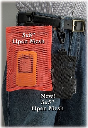 "Open Mesh Utility Bag™ & Safety Tote 3"" x 5"""