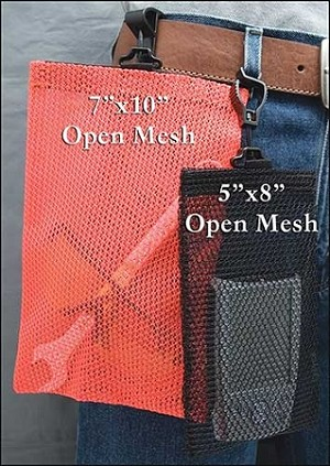 "Open Mesh Utility Bag™ & Safety Tote 5"" x 8"""