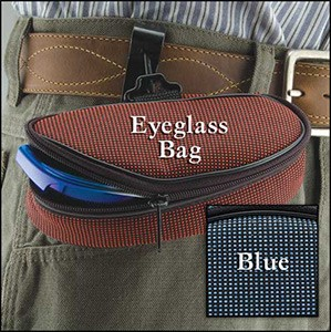 The Eyeglass Utility Bag™ tote is available in two colors.